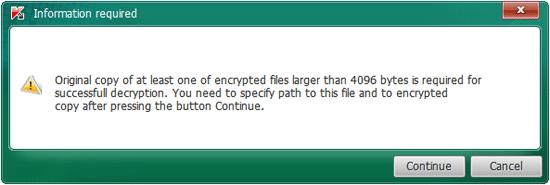 Selanjutnya jelajahi file yang dienkripsi, nah software ini akan mencari file yang mirip dengan apa yang telah dicadangkan sebelumnya. Jika ingin menghapus file yang dienkripsi setelah software mendekripsi, klik pada ,Ubah parameter, dan centang opsi yang diperlukan. Klik OK untuk menyimpan pengaturan. Ini mungkin diperlukan untuk menghemat ruang disk yang ditempati oleh file duplikat. Pada beberapa kasus, disarankan untuk menyimpan file yang terpengaruh untuk sementara waktu sampai enkripsi yang tepat dari file yang terpengaruh diverifikasi. Lanjutkan proses dengan menghapus file crypted. Klik Mulai untuk mulai memindai dan proses enkripsi.